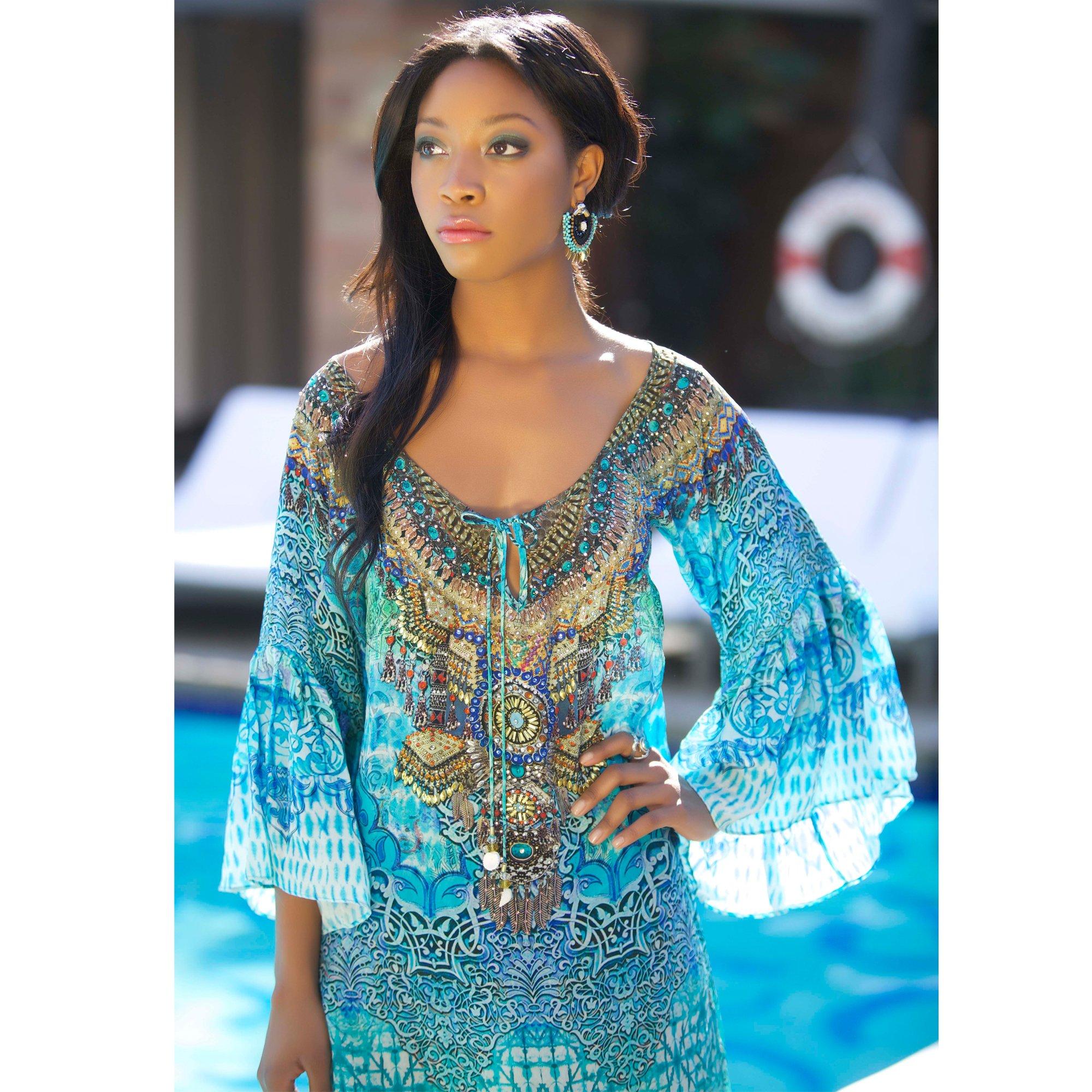 Pacifico Gypsy Dress - Diamond Beach